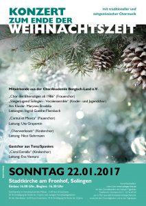 Konzert zum Ende der Weihnachtszeit