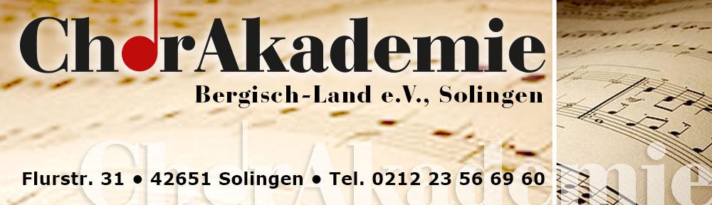 ChorAkademie Bergisch-Land e.V.